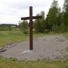 Ekshärads gamla kyrkplats, 18 maj 2019. Foto: Åke Johansson.