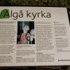 Bilder från Älgå kyrka