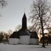 Bilder från Aspnäs gårdskyrka