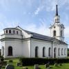 Lidens nya kyrka, 31 juli 2019. Foto: Åke Johansson.