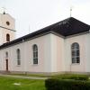 Ragunda nya kyrka, 31 juli 2019. Foto: Åke Johansson.