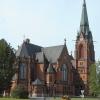 Bilder från Umeå stads kyrka