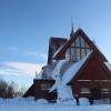 Bilder från Kiruna kyrka
