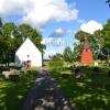 Bilder från Ekeskogs kyrka