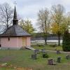 Kyrkogården.