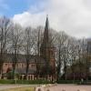 Bilder från Hyby nya kyrka