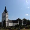 Bilder från Lyby kyrka