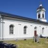 Ådals-Lidens kyrka, 3 juli 2018. Foto: Åke Johansson.