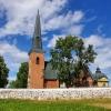 Bilder från Ängsö kyrka