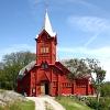 Bilder från Hälleviksstrands kapell