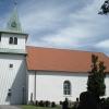 Bilder från Foss kyrka