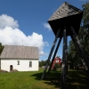 Högsjö gamla kyrka, 9 augusti 2019. Foto: Åke Johansson.