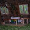 Bilder från Saltoluokta kåtakyrka