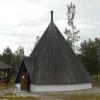 Bilder från Kåtakyrkan i Storuman