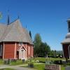 Bilder från Övertorneå kyrka