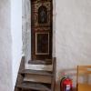 En liten dörr i tornkammaren. Något för Christian att utforska?