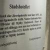 Bilder från Mjölby Stadshotell
