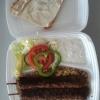 Kebabspett med bulgur