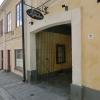 Ingång till Restaurang Ågården i Arboga.