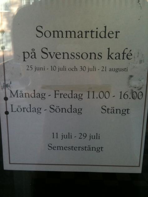 Svenssons Kafé
