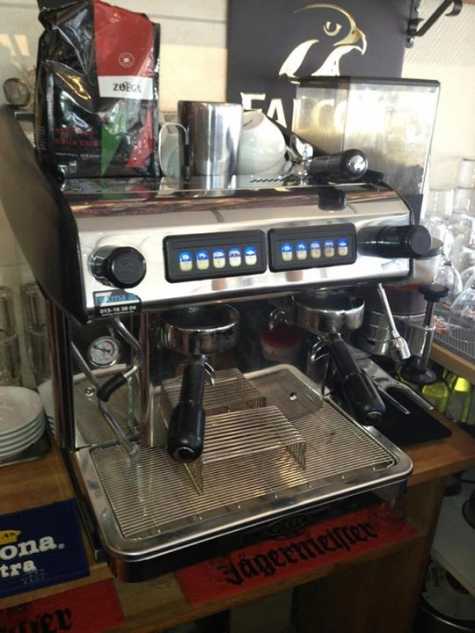 chai latte maskin