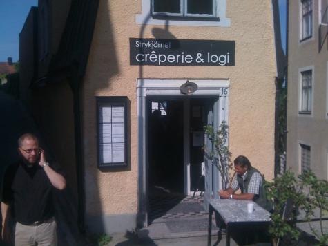 Creperie och Logi