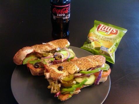 subway vegan sverige