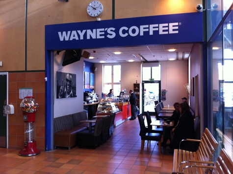 waynes coffee öppettider