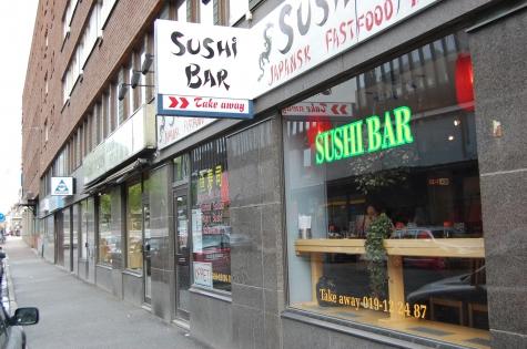 Sushibar i Örebro