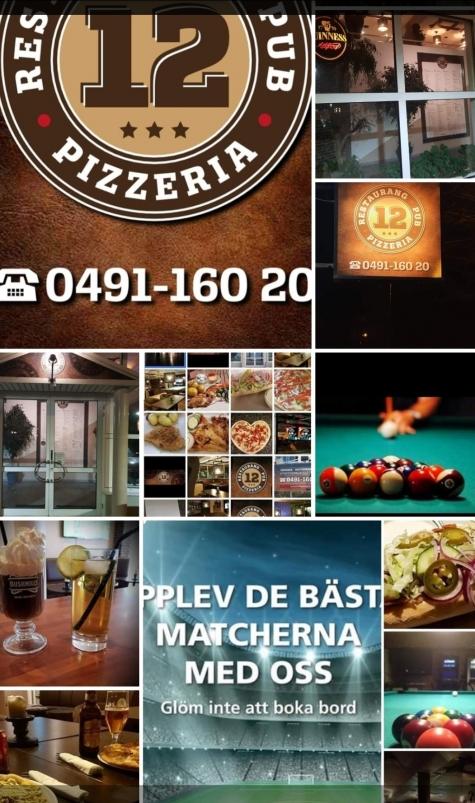 12:an Pizza, Kebab och Salladsbar