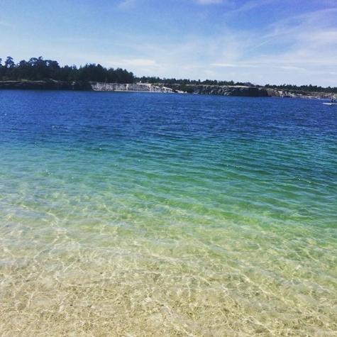 badplatser gotland karta BADKARTAN.SE » Blå Lagunen » Bild från Blå lagunen, Gotland av  badplatser gotland karta