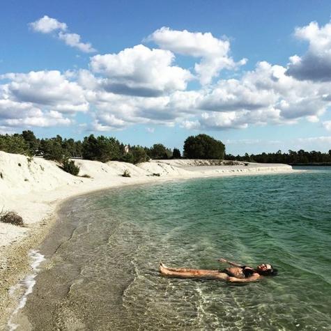 blå lagunen gotland karta BADKARTAN.SE » Blå Lagunen » Bild från Blå lagunen, Gotland av  blå lagunen gotland karta