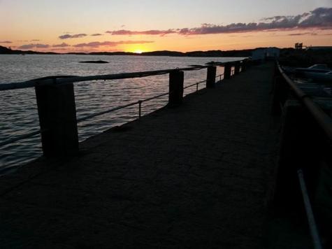 Badholmarna, Bovallstrand
