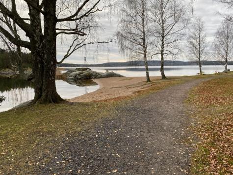Trulsön, Grumsfjorden