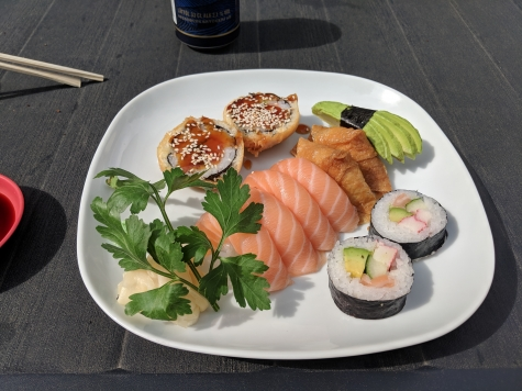 Dumpling Sushi