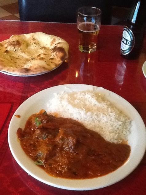 Restaurangkartan Se Indiska Koket I Tyreso Biff Vindaloo Som Var Grymt Stark Mycket Kott Ocksa