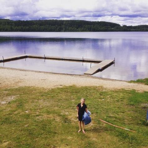 Hjoggsjöns badplats