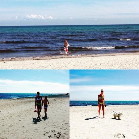 Badkartanse Borrby Strand Kyhl Bild Av At Siegbrit Strand