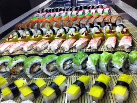 sushi triangeln malmö