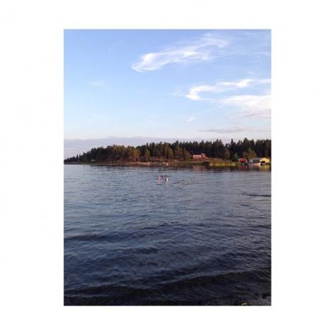 kallviken, Lövångers havsbad