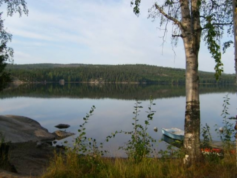 Snibbens badplats, Mörtsjön