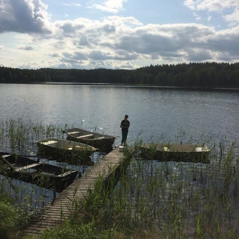 Norr Morssjön Gamla Badet
