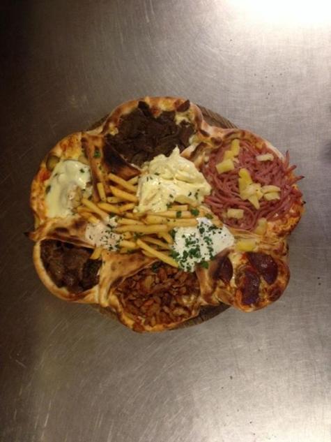 pizzeria regement meny