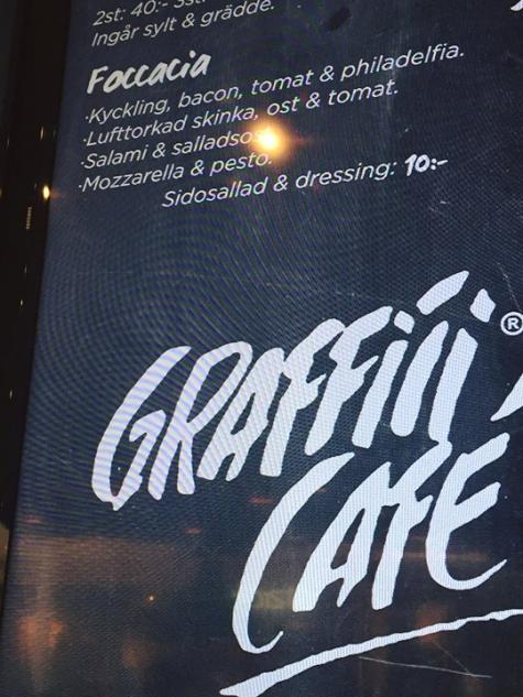 Graffiti Café Västerås