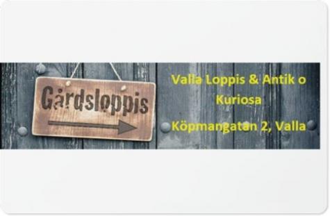 Valla Loppis, Antik och Kuriosa