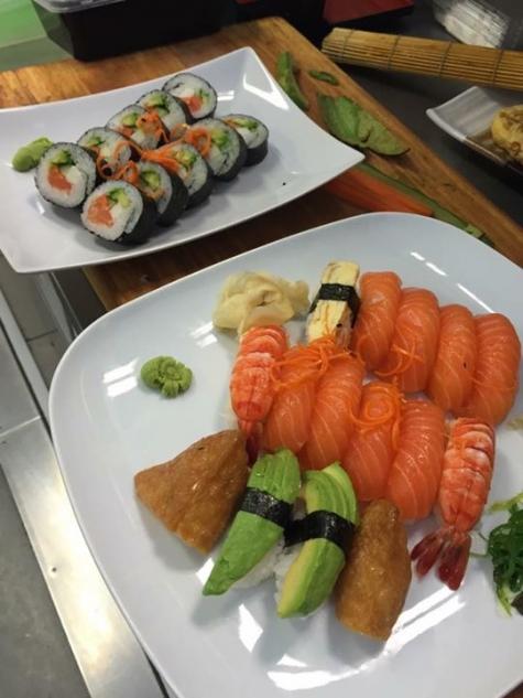weda sushi meny