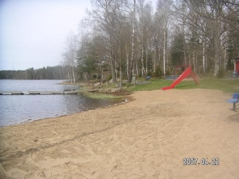 Stavsjöbadet, Stavsjön