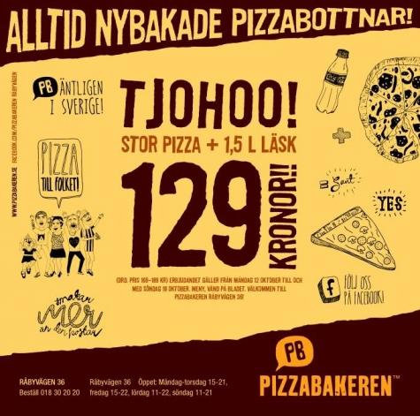 Pizzabakeren Råbyvägen