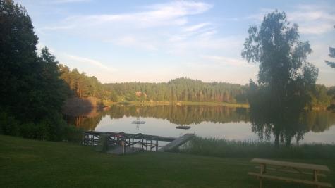 Kyrksjön, Dammhagen
