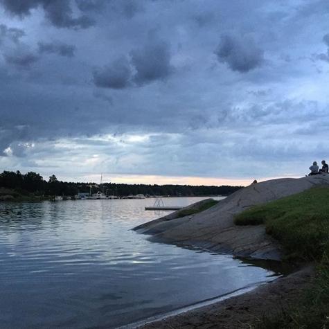 Badholmen, Sätterfjärden 1